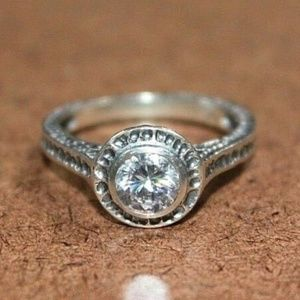 Silpada Perfect Bliss CZ Ring - Size 5